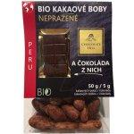 Chocolate Hill Kakaové boby nepražené čokoláda Peru Bio 55 g