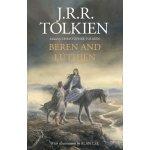 Beren and Lúthien J. R. R. Tolkien, Christopher Tolkien, Alan Lee Hard