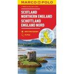 MARCO POLO Karte Großbritannien Schottland, England Nord 1:300 000. Écosse, Angleterre du Nord. Scotland, Northern England