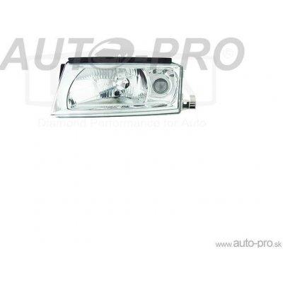 Hlavní světlomet (přední světlo) - pravé (bez žárovky) DPA 1U1941018E OCTAVIA 1U5 2.0 85 AQY APK AZH AEG AZJ 04-1999