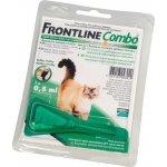 Frontline Combo Spot-On pro kočky a fretky roztok pro nakapání na kůži - 2 x 0,5 ml