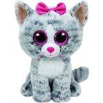 Beanie Boos KIKI šedá kočka 24 cm