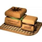 RaE Bambucké tělové máslo Konopí 50 ml + Krémový deodorant Color 15 ml Citrónová tráva dárková sada