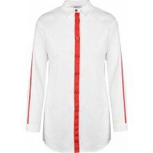 9f1b9330f52 HAILYS Hailys dámská košile s červeným pruhem Lina bílá