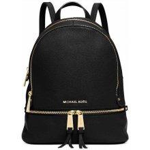 0a9c697e4c Michael Kors Rhea Medium Leather Backpack Black