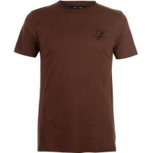 Dead Legacy Side Zip T Shirt Brown