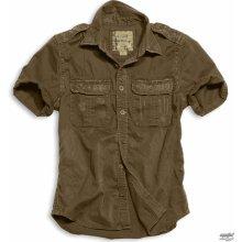 SURPLUS 1/2 Raw Vintage Shirt HNĚDÁ 06-3590-05