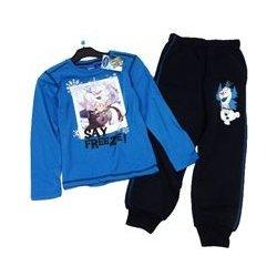 Disney 2set Modré triko s obrázkem Frozen + tmavomodré tepláky