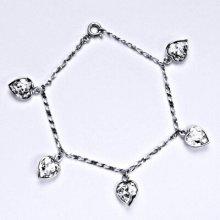 Swarovski čirými krystaly, srdce, R 1396