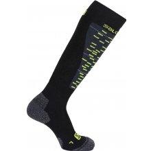 Salomon ponožky Mission black/granny green