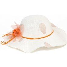Bílý dámský klobouk letní Assante 161216