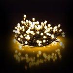 RETLUX RXL120 Řetěz vánoční 100 LED 10m teplá bílá, IP44, cherry,