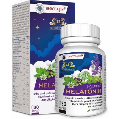 Barnys Hypnox Melatonin 30 kapslí
