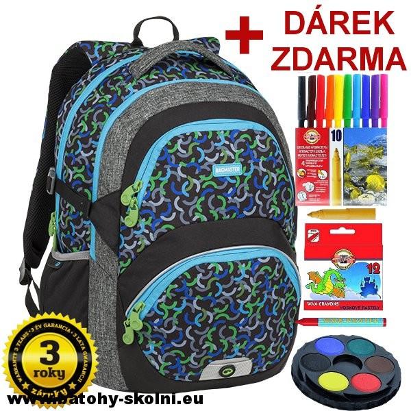 d34c22148 Bagmaster THEORY 9 E GREEN BLUE BLACK od 1 989 Kč - Heureka.cz