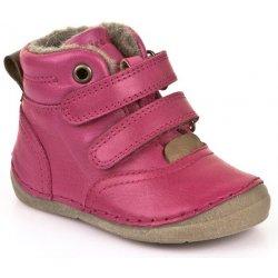 Dětská bota Froddo zimní kotníčkové boty na suchý zip růžové 2696f6095c
