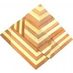 Drewmax 3186 R Dřevěný hlavolam velký Pyramida