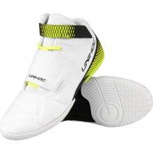 Brankářské florbalové boty Unihoc U3 Goalie White Neon Yellow f4b7b550cd