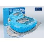 Nanostad 3D puzzle fotbalový stadion Germany AllianzArena Munchen 1860 Blue Packing