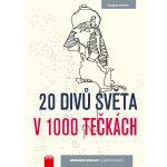 20 divů světa v 1000 tečkách - Thomas Pavitte