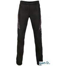 Alpine Pro Huw vel.L pánské pružné kalhoty na běžky černé