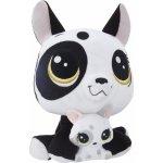 Littlest Pet Shop Duo plyšových zvířátek Bullena Doghouser
