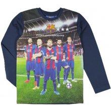 FC Barcelona tričko hráči 17 junior černé