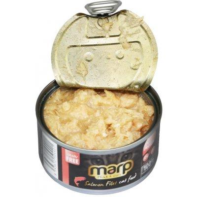 Marp Salmon Filet pro kočky s filety z lososa 70 g