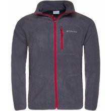77ade07b5df COLUMBIA Fast Trek II Full Zip Fleece Graphite Mtn Red