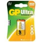 GP ULTRA alkalická baterie 6L22 9V 1ks