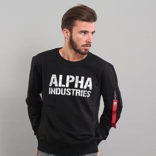 Alpha Industries Camo Print Sweat černá   camo šedá alternativy - Heureka.cz 004a24253e