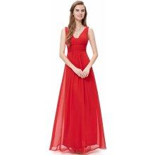 Ever Pretty plesové šaty elegantní 8110 červená 78b7d188d4