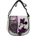 Joummabags Luxusní kabelka s chlopní Minnie Mašle 23x20,5x8,5cm