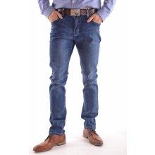 738ce793bfb4 pánské elastické riflové kalhoty M.SARA KA 8885 modré