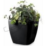 G21 Samozavlažovací květináč Cube maxi černý 45cm