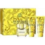 Versace Yellow diamonds EdT 50 ml + tělové mléko 50 ml + sprchový gel 50 ml dárková sada