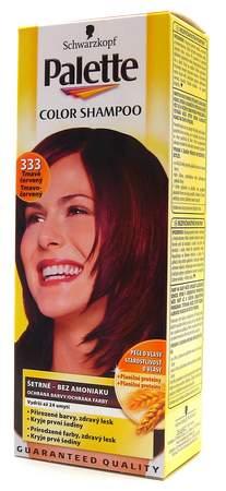 Palette Color Shampoo Tmavě červený 333