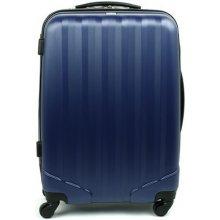 David Jones 1011 skořepinový kufr střední 46x25x66 cm Modrá
