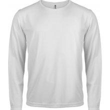 Tričko s dlouhým rukávem Bílá