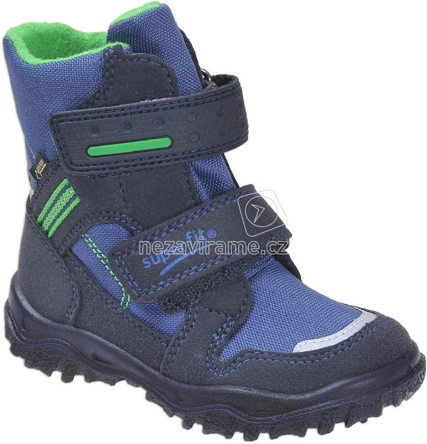 Superfit 1-00044-82 zimní boty HUSKY modrá 3da4a4bea1