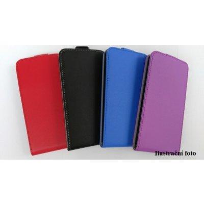 Pouzdro Forcell Slim Flip 2 flexi Samsung Galaxy Core Prime G360 VE G361 Červené