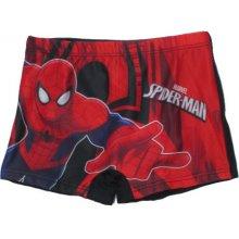Chlapecké plavky Spiderman Marvel červeno černá