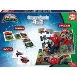 Educa Spiderman SuperPack 4 v 1