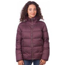 Geox dámská péřová bunda fialová