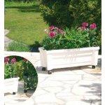 LUKLAND 37393 Truhlík na rostliny se zavlažovacím systémem CALYPSO zelený