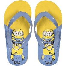 Disney Brand Dětské žabky Mimoni žluto-modré