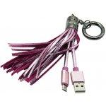 Mizoo X900 USB/microUSB, růžový