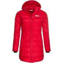 Nordblanc dámská péřová bunda parka Endure červená