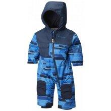 Columbia Hot-Tot Suit Super Blue Geo Print