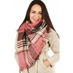 Položit otázku Glara Dámský zimní maxi šátek se vzorem růžová 402420 ... 58381ca2a1