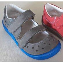 Beda Barefoot Sandály BF 0001 SD W šedá modrá 6f9d3c854f
